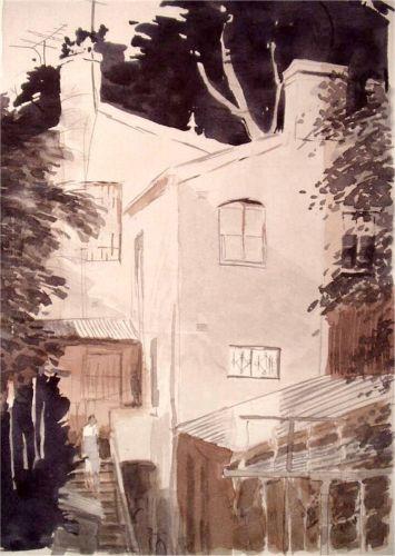 Watercolor, 2003: Paddington 5AM