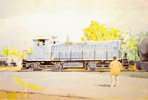Watercolor, 2001: Wilmington Foamer