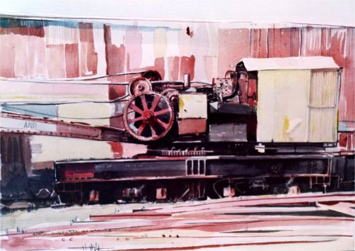 Watercolor, 2001: Heavy Metal